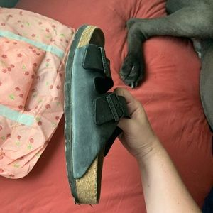 Birkenstock Shoes - used black birkenstock's